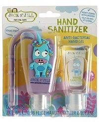 Jack N´Jill Antibakteriálny gél na ruky pre deti Jednorožec 2 x 29 ml