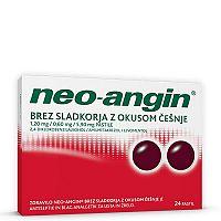 Neo-angin bez cukru ČEREŠŇA 24 pastiliek