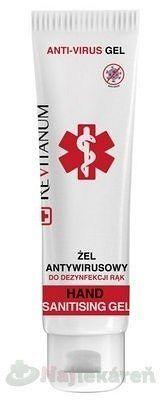 Revitanum antivírusový dezinfekčný gél 100 ml