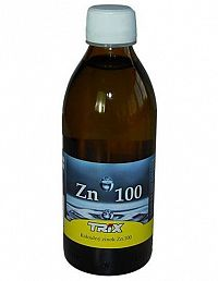 Koloidný zinok Zn100 10ppm 300 ml
