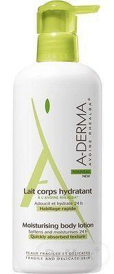 A-DERMA LAIT CORPS HYDRATANT hydratačné telové mlieko 1x400 ml