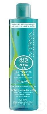 A-DERMA PHYS-AC EAU MICELLAIRE PURIFIANTE () čistiaca micelárna voda 1x400 ml