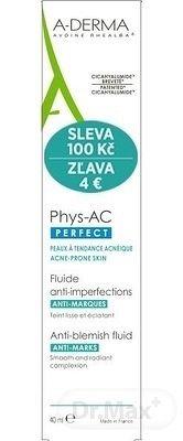 A-DERMA PHYS-AC PERFECT FLUIDE ANTI-IMPERFECTIONS () fluid proti nedokonalostiam pleti 1x40 ml