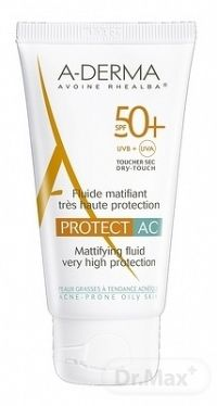 A-Derma Protect AC zmatňujúci fluid SPF50+ 40 ml