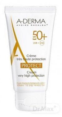 A-DERMA PROTECT CRÈME SPF50+ krém (normálna až suchá fragilná koža) 1x40 ml