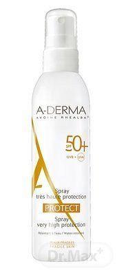 A-DERMA PROTECT SPRAY SPF50+ sprej (krehká fragilná koža) 1x200 ml