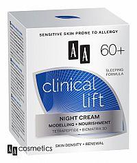 AA Clinical Lift NOČNÝ KRÉM 60+ 50 ml