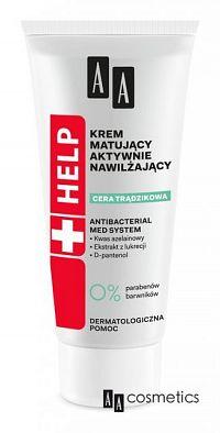 AA Help Acne Aktívne hydratačný a zmatňujúci krém 40 ml