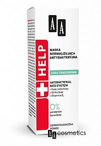 AA Help Acne Antibakteriálna normalizačná maska 40 ml