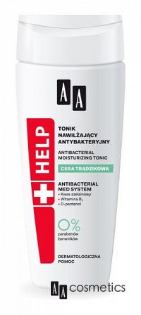 AA Help Acne Antibakteriálne hydratačné tonikum 200 ml