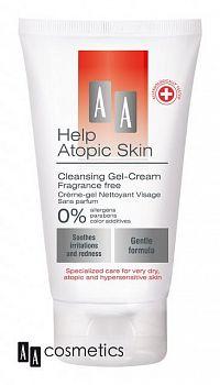 AA Help Atopic Skin Čistiaci gélový krém neparfumovaný 150 ml