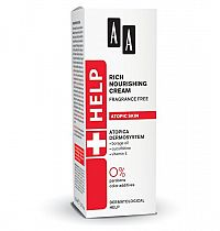 AA Help Atopic Skin Mastný výživný krém neparfumovaný 50 ml