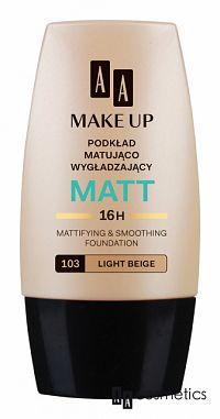 AA Make Up Matt 103 Svetlá béžová 30 ml