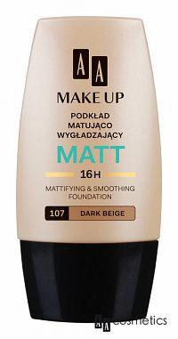 AA Make Up Matt 107 Tmavá béžová 30 ml