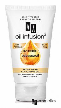 AA Oil Infusion Čistiaci exfoliačný gél na tvár 150 ml