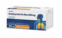 Acetylcystein Dr.Max 600 mg 10 šumivých tabliet