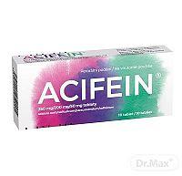 ACIFEIN tbl (blis.PVC/Al) 1x10 ks