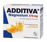Additiva Magnezium 375 mg, nápoj pomaranč 20 sáč.