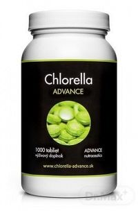 ADVANCE Chlorella BIO tbl 1x1000 ks