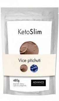 ADVANCE KetoSlim - príchuť čokoláda proteínový koktail 1x480 g