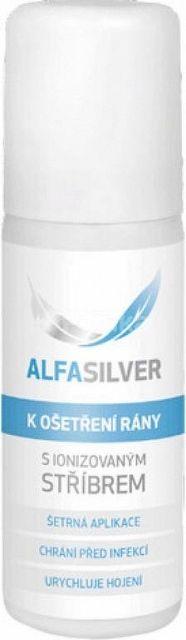 Alfasilver sprej na ošetrenie rán 125 ml