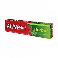 ALPA DENT HERBAL zubná pasta, 1x90 g