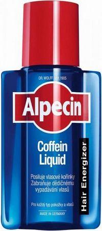 Alpecin Caffeine Liquid kofeínové tonikum proti padaniu vlasov pre mužov Strengthens The Hair Roots Prevents Hair Loss 200 ml