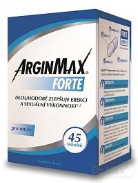 ARGINMAX FORTE pre mužov inov.13 cps 1x45 ks