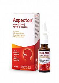 Aspecton sprej do nosa s éterickými olejmi a dexpantenolom 1x30 ml