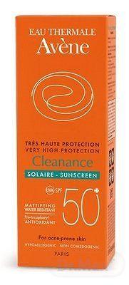 Avène Haute Protection Cleanance solair emulzia pre mastnú a aknóznu pleť SPF50+ 50 ml