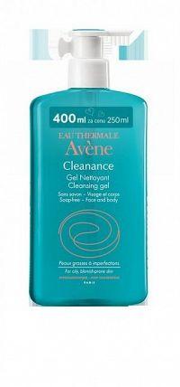 Avene CLEANANCE - čistiaci gél pre mastnú aknóznu pleť 400 ml