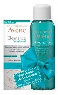 AVENE CLEANANCE COMEDOMED (Darček) koncentrovaná starostlivosť, akné, 30 ml + CLEANANCE GEL 100 ml , 1x1 set