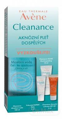Avene CLEANANCE - sada starostlivosti o aknóznu pleť dospelých 1 set