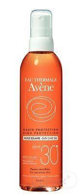 Avene HUILE - slnečný olej s vysokou ochranou SPF30 200 ml