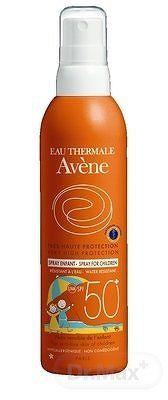 AVENE SPRAY ENFANT SPF50+ sprej na opaľovanie pre deti, 200 ml