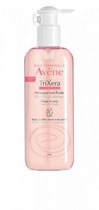 Avene TRIXERA - nutri-fluid sprchový gél na tvár a telo 400 ml