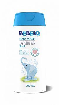 BEBELO BABY WASH 3in1 1x200 ml