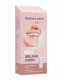 Biela perla - bieliace pero 30 ml zubná pasta + 8 ml bieliace pero