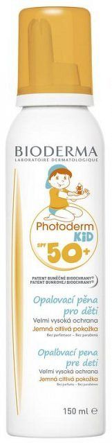 BIODERMA PHOTODERM KID SPF50+ opaľovacia pena 1x150 ml