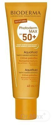 BIODERMA PHOTODERM MAX SPF 50+ Aquafluid suchý krém natural 1x40 ml