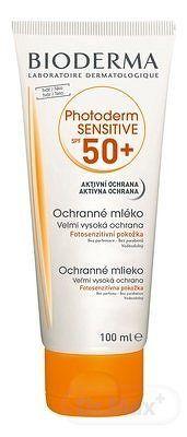 BIODERMA PHOTODERM SENSITIVE SPF 50+ mlieko aktívna ochrana 1x100 ml