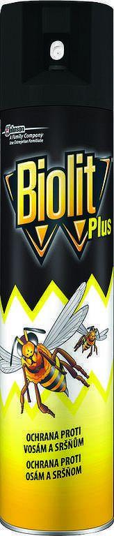 Biolit sprej Plus na osy 400 ml