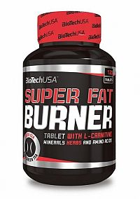 BioTech USA Super fat burner 120tbl