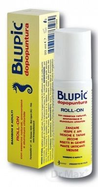 BLUPIC Po uštipnutí s amoniakom roll-on 1x20 ml
