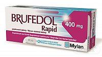 Brufedol Rapid 400 mg tbl flm (blis.) 1x24 ks