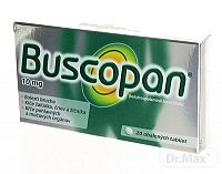 Buscopan tablety 10 mg, 20 ks
