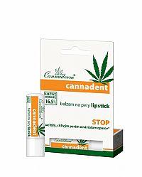 Cannaderm CANNADENT balzam na pery lipstick suché a citlivé pery 1x4,5 g