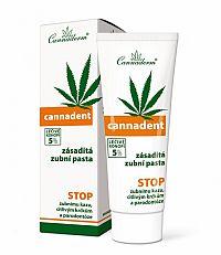 Cannaderm CANNADENT zubná pasta ošetrujúca (zásaditá) 1x75 g