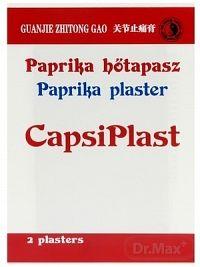 CAPSIPLAST - HREJIVÁ NÁPLASŤ S VÝŤAŽKOM Z PAPRIKY 1x2 ks