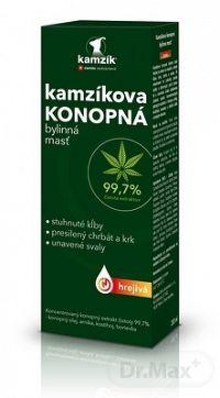 Cemio Kamzíkova konopná masť NEW hrejivá (inov.2021) 1x200 ml